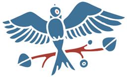 Granö fågel