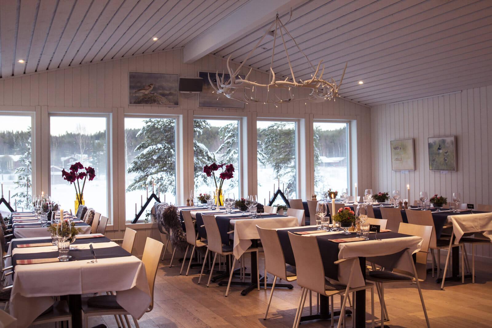 Restaurant Weihnachtsessen.Granö Beckasin Julbord Granö Beckasin