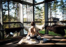 Granö Beckasin Yoga Glashus
