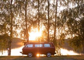 Camping I Västerbotten